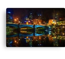 Reflective City      (GO2) Canvas Print