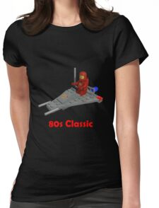 80s Classic Space Lego Womens Fitted T-Shirt