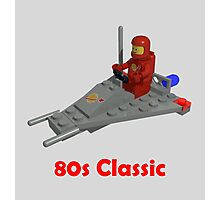 80s Classic Space Lego Photographic Print