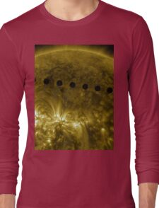 Venus in Transit Across the Sun - Sequence Long Sleeve T-Shirt