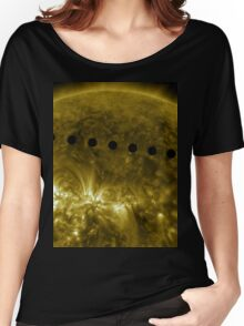 Venus in Transit Across the Sun - Sequence Women's Relaxed Fit T-Shirt