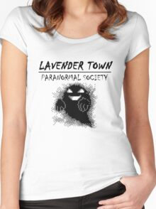 Lavender Town Paranormal Women's Fitted Scoop T-Shirt