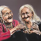 Laughter    -    For the International Day of Happiness! by Colombe  Cambourne