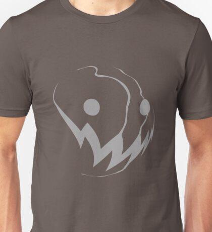 Grin: Grey Unisex T-Shirt