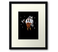 White Dwarf sun Framed Print