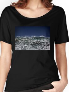 Winter Waves At Pipeline 11 Women's Relaxed Fit T-Shirt