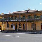Lotts Family Hotel, Gundagai, New South Wales, Australia by Margaret  Hyde