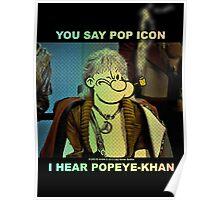 POP ICON / POPEYE-KHAN 025 Poster