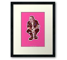 Punk Nine Framed Print