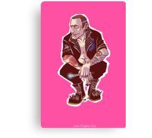 Punk Nine Canvas Print