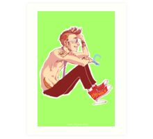 Punk Ten Art Print