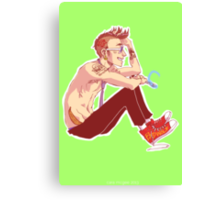 Punk Ten Canvas Print