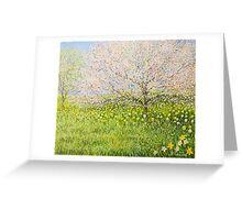 Springtime impression Greeting Card
