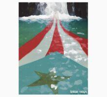 Puerto Rico River Flag Style by Josue Vega Perez