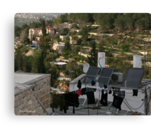 From Laundry to Ein- Karem Canvas Print