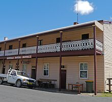 Royal Hotel, Sofala, New South Wales, Australia by Margaret  Hyde
