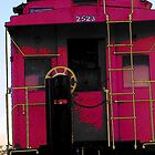Red Caboose by CanoeComsArt