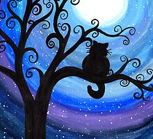 Midnight Cat by klbailey