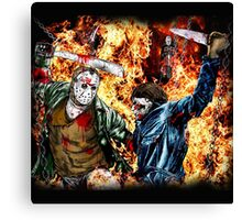 the battle for HELL Canvas Print