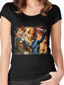 the battle for HELL Women's Fitted Scoop T-Shirt