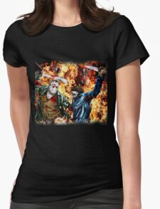 the battle for HELL Womens Fitted T-Shirt