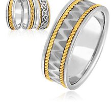 Eternity wedding bands by weddingbands25