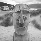 Easter island head  by Miguel1995