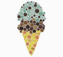 * ICE CREAM Mint chip/Chocolate  One Piece - Short Sleeve