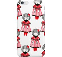 Lovely girl iPhone Case/Skin
