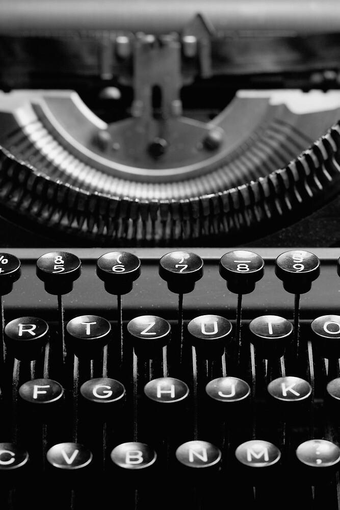 Typewriter 4 by Falko Follert