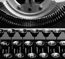 Typewriter 4 by Falko Follert