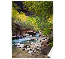 Virgin River in Autumn Poster