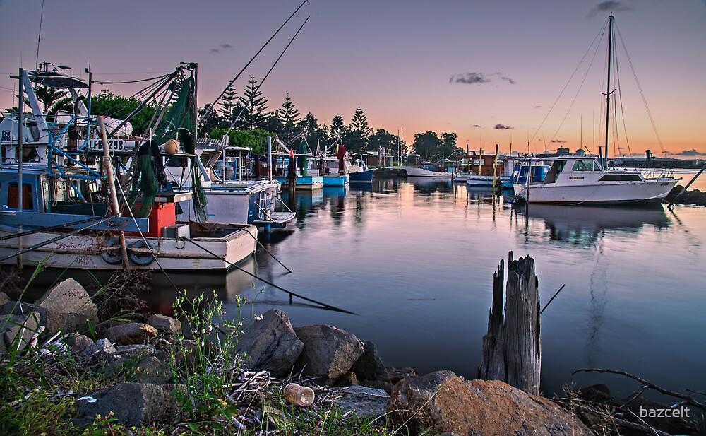 Fishing Fleet At Rest by bazcelt