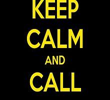 Keep calm and call batman by djronei90