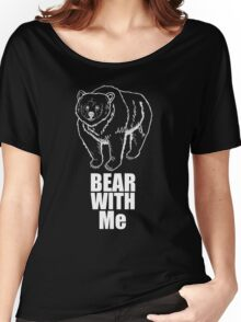 Bear With Me (2 white) Women's Relaxed Fit T-Shirt