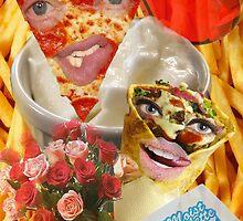 Pizza and Donair love affair by NaughtyMynx