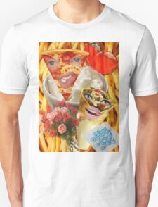 Pizza and Donair love affair Unisex T-Shirt