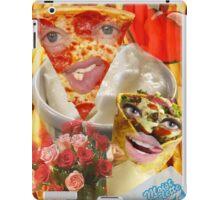 Pizza and Donair love affair iPad Case/Skin