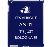 It's Just Bolognaise iPad Case/Skin