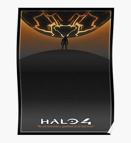 Halo 4 Poster Poster