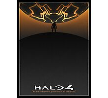Halo 4 Poster Photographic Print
