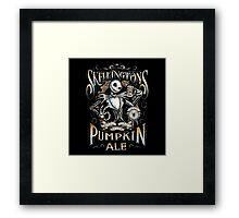 Jack's Pumpkin Royal Craft Ale Framed Print