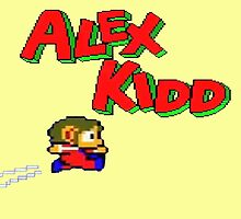 Alex Kidd by drubdrub