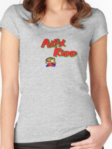 Alex Kidd Women's Fitted Scoop T-Shirt