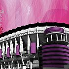 Bernabeu a Color by RudolphBlackArt
