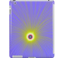 Color Explosion in Yellow and Blue iPad Case/Skin