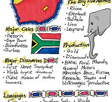 South Africa - A Poster by Rodney Sloan