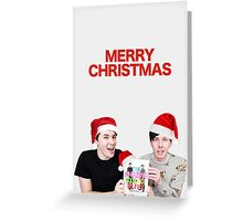 Merry Christmas Tabinof Card Greeting Card