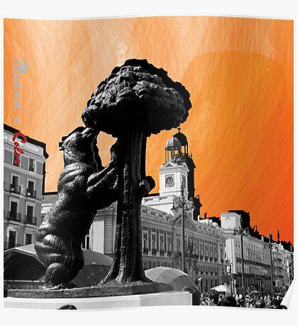 Puerta del Sol a Color Poster