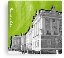 Palacio Real a Color Canvas Print